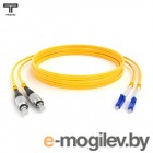 LC/LC-дуплексный шнур, 9/125 мкм, SM, 15 м LC/LC Duplex Patchcord, SM 9/125, 15m