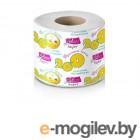 Бумага туалетная  Супер однослойная на втулке (1 рулон)
