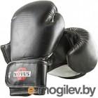 Боксерские перчатки Novus LTB-16301 10oz (S/M, черный)