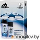 Туалетная вода Adidas UEFA League Champions Edition 2019 парфюм вода+гель д/душа (75мл+250мл)