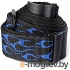 Ремень для гитары Dunlop Manufacturing D38-11BL Strap Flambe-Blue