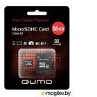 Карта памяти QUMO QM8GMICSDHC10 (microSDHC, Class 10, 8 Гб)