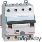 Дифференциальный автомат Legrand DX3 4P С 20A 30мА 6kА 4М / 411187