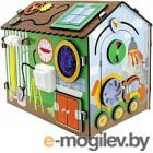 Развивающая игрушка Мастер игрушек Бизиборд. Я-строитель / IG0269