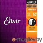 Струны для акустической гитары Elixir Strings 16027 11-52