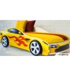 Детская кровать-машинка Бельмарко Бондмобиль / 556 (желтый)