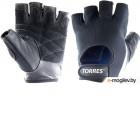 Перчатки для пауэрлифтинга Torres PL6047M (M, черный)