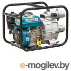 Мотопомпа бензиновая ECO WP-1404D (для загрязнённой воды, 5,2 кВт, 1400 л/мин, 3)