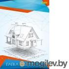 Папка для черчения Silwerhof 458644/915029-24 A3 10л. бум.160г/м2 верт.штамп