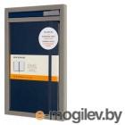Набор Moleskine Bundle Vertical блокнот/ручка блокн.:Classic Large линейка синий