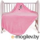 Плед детский Polini Kids Disney baby Минни Маус (розовый)