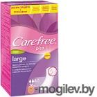 Прокладки ежедневные Carefree Large Fresh Plus (36шт)