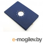 Блокнот Эврика с часами А5 Blue 99265