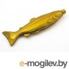 Фляга Эврика Рыба 100ml Gold 99186