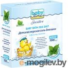 Соль для ванн детская Babyline Морская с крапивой DC08 (4x250г)