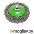 Щетка дисковая гофр.100мм/M14 BOSCH (для нержавеющей стали)