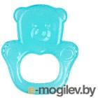 Прорезыватель для зубов BabyOno Медвежонок / 1013 (голубой)