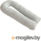 Подушка для беременных Martoo Mommy U / MOM-U-GR (белые звезды на сером)