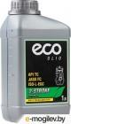 Масло моторное 2-х тактное ECO 1 л (JASO FC,  API TC, ISO-L-EGC,)