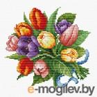 Набор для вышивания БЕЛОСНЕЖКА Тюльпаны / 6013-14