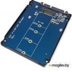 PCI-E (Riser) / SATA / eSATA / IDE / MOLEX Переходник Espada SATA III to M.2 NGFF M2S906C2