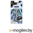 Gillette Mach3 Turbo с 2 сменными кассетами 81428407