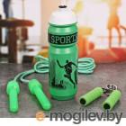 СИМА-ЛЕНД Sport Is Life - бутылка для воды 900ml + скакалка и эспандер 2588950