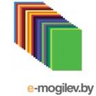 Цветная бумага Brauberg А3 20 цветов 124785