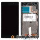 дисплей в сборе с тачскрином для Sony для Xperia Z2 D6503 черный AAA