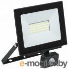 Iek LPDO602-50-65-K02 Прожектор СДО 06-50Д светодиодный черный с датчиком движения IP54 6500K