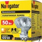 Лампа галогенная Navigator 94208 JCDRC 50W GU10 230V 2000h