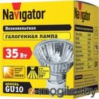 Лампа галогенная Navigator 94225 JCDRC 35W GU10 230V 2000h