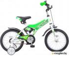 Велосипед Stels 18 Jet Z010 (LU087404) Белый/Салатовый