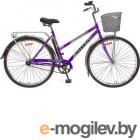 Велосипед Stels Navigator 28 300 Lady Z010 (с корзиной) (LU085342) Фиолетовый