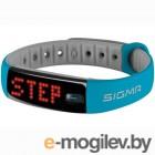 Фитнес браслет Sigma 22911 Activo сине-серый