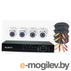 Комплект видеонаблюдения 4CH + 4CAM FE-104MHD KIT DACHA FALCON EYE