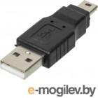 Переходник USB2.0 Ningbo mini USB B (m)/USB A (m)