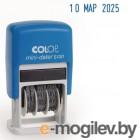 Датер Colop S 120/BL пластик черный