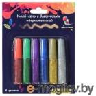 Клей-гель Silwerhof Классический 899103 Цветландия 6 цв. блестки