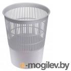 Корзина для бумаг Стамм КР52 круглая 14л. пластик серый