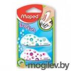 Ластик Maped Ergo цветной фигурный 2 штуки