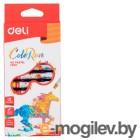 Масляная пастель Deli ColoRun EC20200 12цв. картон.кор./европод.