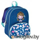Рюкзак детский Hama LOVELY GIRL синий/голубой
