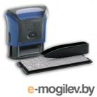 Самонаборный штамп Trodat 4911/DB PRINTY TYPO 4.0 пластик синий