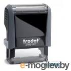 Самонаборный штамп Trodat 4911/DB ПОЛУЧЕНО пластик серый