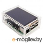 RA147   Корпус ACD Acrylic Case w/ 3.5 inch LCD hole for Raspberry Pi 3