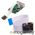Raspberry Pi    Камера PiNoIR Camera v2 Retail,   Infrared camera, Sony IMX219 8-megapixel sensor, Supports 1080p30, 720p60 and VGA90 video modes, Cable 15 cm, Compatible with Raspberry Pi 1, 2, and 3 Raspberry Pi