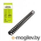 Пружины для переплета пластиковые Lamirel, 10 мм. Цвет: черный, 100 шт в упаковке.