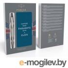 Набор Parker Jotter Core K61 (9) (2061287) Stainless Steel CT ручка шариковая синие чернила в компл.:блокнот (9шт) дисплей