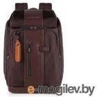 Рюкзак Piquadro Brief CA4443BR/TM темно-коричневый натур.кожа/ткань